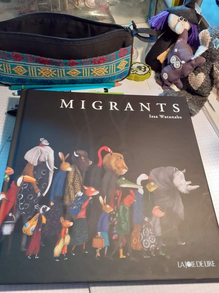 Album Migrants d'Issa Watanabe